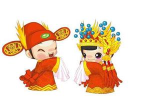 博源翻译为中国帅哥与法国美女的婚礼提供法语现场口译服务